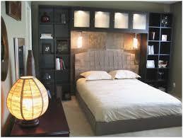 Bookcase Headboard Ikea Nice Your Bedroom Space With Book Shelf Headboard  Modern Shelf For Bed