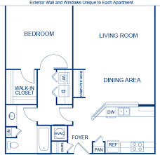 camden design district apartments. Blueprint Of Chastain Floor Plan, 1 Bedroom And Bathroom At Camden Midtown Atlanta Apartments Design District