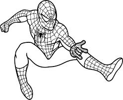 Disegni Di Spiderman Da Colorare E Stampare Colorare