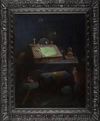 PRISCILLA WARREN ROBERTS (American, 1916-2001). Thanatopsis.   Lot #76374    Heritage Auctions