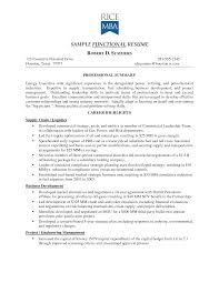 Functional Or Chronological Resume Resume Ideas