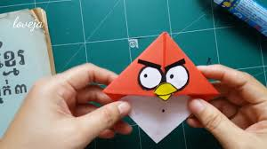 diy angry birds crafts easy bookmarks