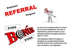 Employee Referal Alpharetta Employee Referral Program