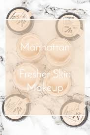 manhattan fresher skin foundation en