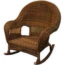wicker rocking chair. Classic Coastal Hampton Wicker Rocking Chair O