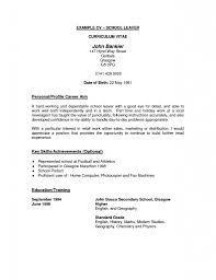 Curriculum Vitae Social Work Career Objective How To Made A