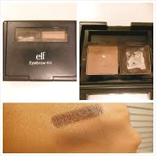 elf eyebrow kit medium vs dark. this eyebrow kit i have re-purchased 6 times! and still 3 still!i believe is the best you can get at a drugstore for great elf medium vs dark