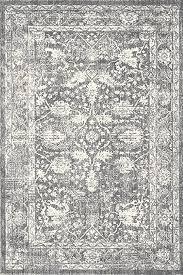 a2z rug vintage traditional santorini 6076 collection grey 120x170 cm 4 x6