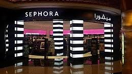 sephora front in dalma mall