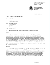 Examples Of Executive Resumes Sample Certificate Of Good Moral