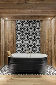 Cozy eclectic bathroom vanity designs ideas using wood Hgtv Elle Decor 40 Rustic Decor Ideas Modern Rustic Style Rooms