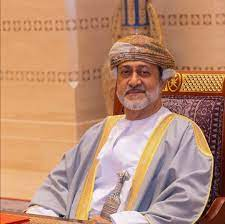 Sultan Haitham bin Tariq Al Said in 2021