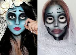 15 corpse bride halloween makeup ideas