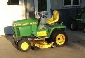 jim kaczmarek garden tractor info john deere 322 garden tractor