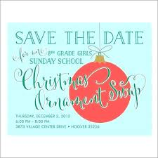 Christmas Party Save The Date Templates Save The Date Party Template