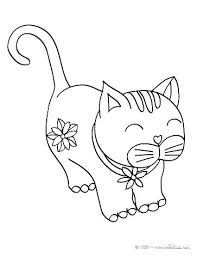 Cartoon Cat Coloring Pages Coloring Cat Coloring Pages Page Cute