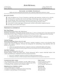 Auto Mechanic Resume Templates New Auto Mechanic Resume Templates Automotive Technician Resume Template