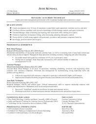Automotive Technician Resume Inspiration Auto Mechanic Resume Templates Automotive Technician Resume Template
