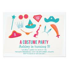 costume party invites costume party invitations announcements zazzle