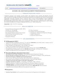 Resume For Human Resource Corol Lyfeline Co Hr Examples Resources