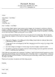 engineering cover letters engineer cover letter example sample
