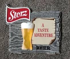 vintage storz beer advertising sign storz brewing co omaha ne