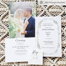 Wedding Invitatiins Personalised Wedding Invitations Announcements Vistaprint