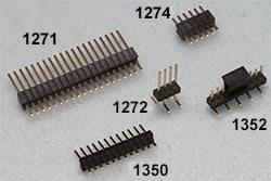1 27mm 1 27 double row female 3 50p breakaway pcb board pin header socket connector pinheader 2 3p 2 10p 2 6 2 20 2 12 2 25