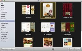 Best Restaurant Menu Design Software Rome Fontanacountryinn Com