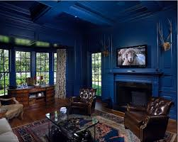 home office dark blue gallery wall. Winning Office Room Color Ideas Curtain Decoration Of 71.jpg Gallery Home Office Dark Blue Gallery Wall