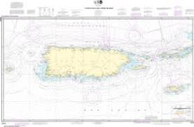 Unimap Charts Oceangrafix Noaa Nautical Chart 25640 Puerto Rico And