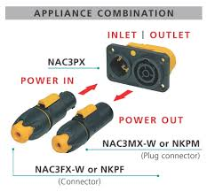 nac3mx w neutrik mating scenario powercon true 1 chassis connector nac3px
