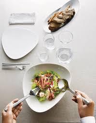 doriana  massimiliano fuksas cast colombina fish cutlery set for