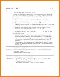 Hair Stylist Resume Sample 60 hairstylist resume example writing a memo 58