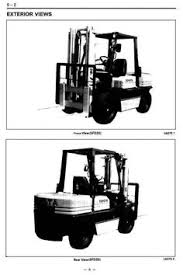 toyota lpg forklift truck fgc fgc fgc fgc original illustrated factory workshop service manual for toyota ic engined forklift truck type 5fg