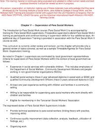 Chapter V Supervision Of Para Social Workers Pdf