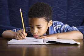 Doing Homework Stock Images  Royalty Free Images   Vectors     Young boy doing homework   Jacek Chebraszewski   fotolia