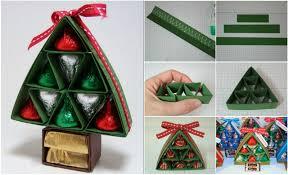 DIY Chocolate Christmas Tree Gift  BeesDIYcomChocolate For Christmas Gifts