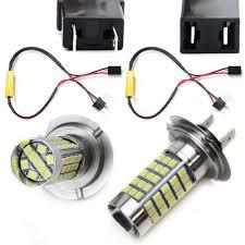 Bmw 1 Series Daytime Running Light Bulb Ijdmtoy Xenon White Error Free 68 Smd H7 High Beam Led Daytime Running Light Kit For Bmw E82 E88 F20 1 Series E90 E91 3 Series E60 F10 5 Series E84