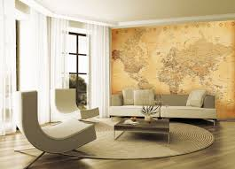 aged vintage map statement wall wallpaper mural 10ft x 7 6ft