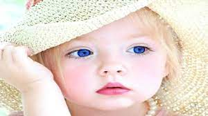 sweet baby blue eyes hd free wallpaper