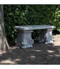 garden bench concrete classical