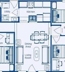Small Picture Simple 4 Bedroom House Plans Simple House Design Plan Simple Home
