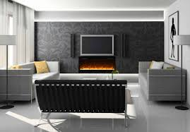 35 inch cynergy crystal built in recessed wall mounted electric fireplace