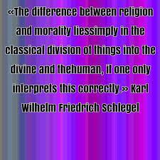 Karl Wilhelm Friedrich Schlegel famous quote about between ... via Relatably.com