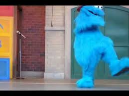cookie monster dancing gif. Fine Monster Sesame Street Live Zoey Dancing U0026 Cookie Monster Teaches How To Dougie   YouTube With Gif