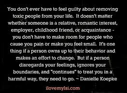 Remove Toxic People I Love My Lsi