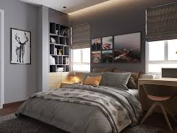 Bedroom Designs: Grey Pink And Black Bedroom Scheme - Grey Bedrooms