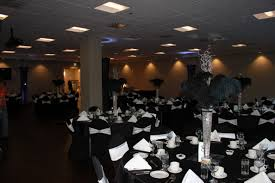 Elegant Classy Black Tie Table Settings And Centerpieces Black