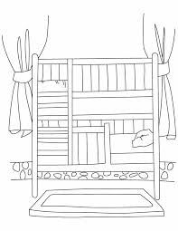 Small Picture Bunk bed coloring pages Download Free Bunk bed coloring pages